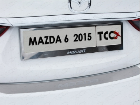 Mazda 6Рамка номерного знака (комплект)
